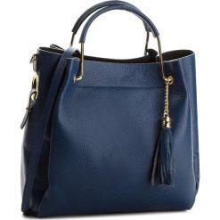 Torebka CREOLE - K10509  Granat. Niebieskie torebki klasyczne damskie Creole, ze skóry. W wyprzedaży za 229,00 zł.