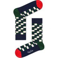 Happy Socks - Skarpety Holiday Big Dot Gift Box (4-pak). Czarne skarpetki męskie marki Happy Socks, z bawełny. Za 119,90 zł.