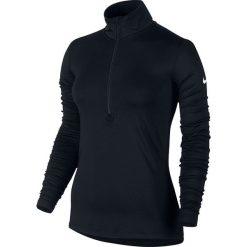 Topy sportowe damskie: Nike Bluza damska Pro Warm Top LS HZ czarna r. S (803145 010)
