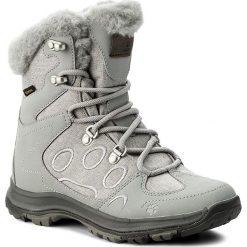 Śniegowce JACK WOLFSKIN - Thunder Bay Texapore Mid W 4020531 Alloy. Szare buty zimowe damskie Jack Wolfskin, z materiału. Za 571,00 zł.