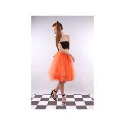 Spódnica tiulowa Pavlova pomarańczowa. Brązowe spódniczki trapezowe Kozacki Mops, xs, z tiulu. Za 229,00 zł.