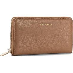 Duży Portfel Damski COCCINELLE - BW5 Metallic Soft E2 BW5 11 32 01 Cuir 012. Czarne portfele damskie marki Coccinelle. W wyprzedaży za 419,00 zł.
