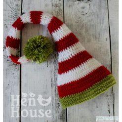 Czapki damskie: Krasnal Świąteczny – czapka unisex