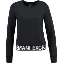 Odzież damska: Armani Exchange Bluza black