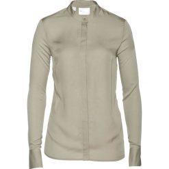 Bluzka ze stójką bonprix khaki. Zielone bluzki z odkrytymi ramionami bonprix, ze stójką. Za 109,99 zł.
