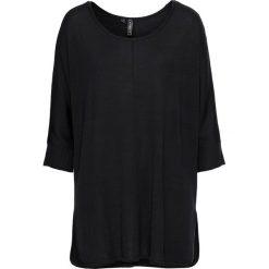 Swetry oversize damskie: Sweter dzianinowy bonprix czarny
