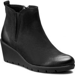 Botki LASOCKI - WI23-1917-04 Czarny. Niebieskie buty zimowe damskie marki Lasocki, ze skóry. Za 199,99 zł.