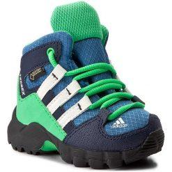 Buty zimowe chłopięce: Śniegowce adidas – Terrex Mid Gtx I GORE-TEX S76931 Corblu/Cwhite/Enegrn