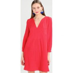 Sukienki hiszpanki: See u Soon ROBE  Sukienka letnia red