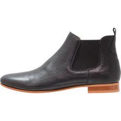 Ten Points NEW TOULOUSE Ankle boot black. Czarne botki damskie skórzane marki Ten Points. W wyprzedaży za 376,35 zł.