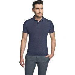 Koszulka polo piave granatowy. Szare koszulki polo marki Recman, m, z długim rękawem. Za 49,99 zł.