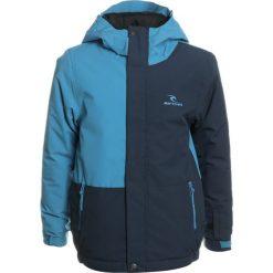Rip Curl ENIGMA Kurtka snowboardowa mediterranean blue. Niebieskie kurtki chłopięce sportowe marki Rip Curl, z materiału, snowboardowy. W wyprzedaży za 377,10 zł.