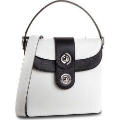 Torebka COCCINELLE - D05 Leila E1 D05 15 01 02 Blanche/Noir 760. Białe torebki klasyczne damskie Coccinelle, ze skóry, duże. Za 1649,90 zł.