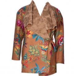Płaszcz w kolorze jasnobrązowym. Brązowe płaszcze damskie marki 101 idées, m. W wyprzedaży za 181,95 zł.