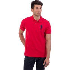 Koszulki polo: Koszulka polo w kolorze czerwonym