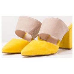 Chodaki damskie: Shoe The Bear SELMA Klapki yellow