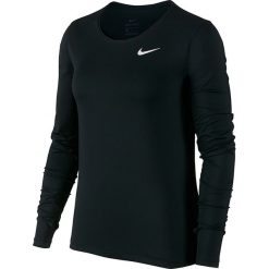 Koszulka termoaktywna damska NIKE PRO ALL OVER LONG SLEEVE TOP / 889536-010. Czarne bluzki sportowe damskie Nike. Za 139,00 zł.