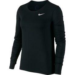Bluzki sportowe damskie: koszulka termoaktywna damska NIKE PRO ALL OVER LONG SLEEVE TOP / 889536-010