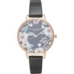 Olivia Burton Zegarek black/rosegoldcoloured. Czarne, analogowe zegarki damskie Olivia Burton. Za 459,00 zł.