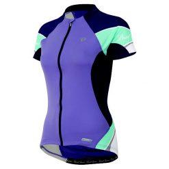 Bluzki sportowe damskie: Pearl Izumi damska Elite Koszulka – Purple Haze