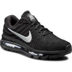 Buty NIKE - Air Max 2017 849560 001 Black/White/Athracite. Czarne buty do biegania damskie Nike, z materiału, nike air max. W wyprzedaży za 549,00 zł.