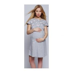 Koszula Fiona szara r. S. Szare bielizna ciążowa Sensis, s. Za 50,01 zł.