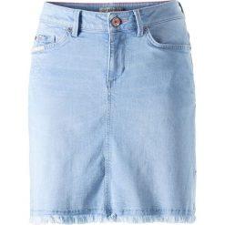 Minispódniczki: Dżinsowa spódnica w kolorze błękitnym