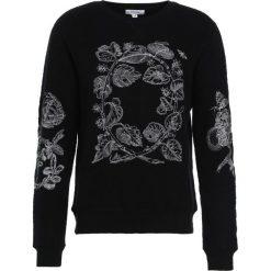 Soulland DAMIAN EMBROIDERY  Sweter black. Czarne kardigany męskie marki Soulland, m, z materiału. W wyprzedaży za 491,40 zł.