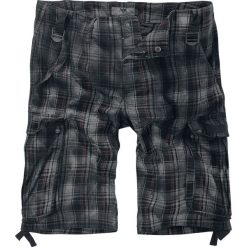 Black Premium by EMP Army Vintage Shorts Krótkie spodenki czarny/bordowy. Czarne spodenki i szorty męskie Black Premium by EMP, z nadrukiem, vintage. Za 184,90 zł.
