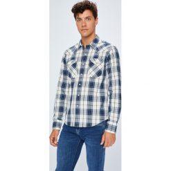 Levi's - Koszula. Brązowe koszule męskie na spinki marki Levi's®, l, w kratkę, z bawełny, button down, z długim rękawem. Za 219,90 zł.
