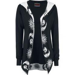 Odzież damska: Jawbreaker Moonstone Cardigan Sweter damski czarny/biały