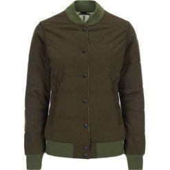 Bomberki damskie: Dwustronna kurtka w kolorze brązowo-oliwkowym