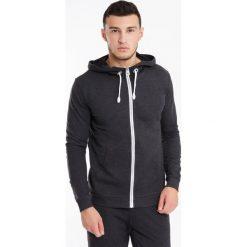 Bluza męska MF Dark Grey. Czerwone bluzy męskie rozpinane marki Astratex, w koronkowe wzory, z wiskozy. Za 123,99 zł.