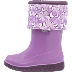 Romika BUTTY Kalosze lila. Fioletowe buty zimowe damskie Romika, z materiału. Za 169,00 zł.