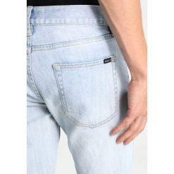 Obey Clothing JUVEE Jeansy Slim Fit bleached indigo. Niebieskie rurki męskie Obey Clothing. W wyprzedaży za 215,40 zł.