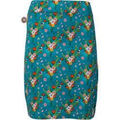 Spódnica w kolorze turkusowym. Niebieskie spódniczki 4funkyflavours Women & Men, l, z bawełny, midi, proste. W wyprzedaży za 122,95 zł.