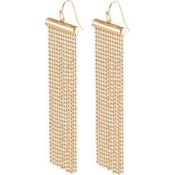 Biżuteria i zegarki damskie: Długie kolczyki bonprix złoty kolor