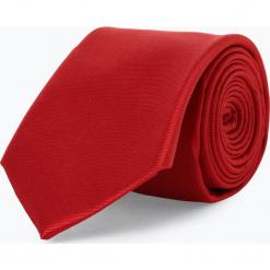 Mc Earl - Krawat jedwabny męski, czerwony. Szare krawaty męskie marki Top Secret, eleganckie. Za 99,95 zł.