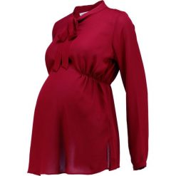 Bluzki asymetryczne: Anna Field MAMA Bluzka  dark red
