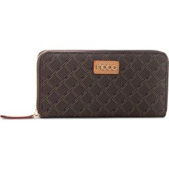 Duży Portfel Damski NOBO - NPUR-F0080-C017 Czarny. Czarne portfele damskie Nobo, ze skóry ekologicznej. W wyprzedaży za 99,00 zł.