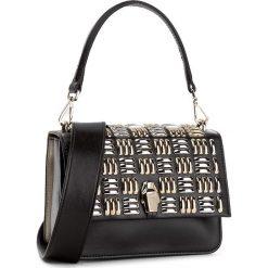 Torebka CAVALLI CLASS - Milano Rmx C72PWCNS0032B14 Black/Gold B14. Czarne torebki klasyczne damskie marki Cavalli Class, ze skóry. W wyprzedaży za 899,00 zł.