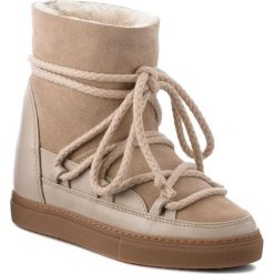 Buty INUIKII - Sneaker Classic 70203-5 Beige. Brązowe buty zimowe damskie Inuikii, ze skóry. Za 1129,00 zł.
