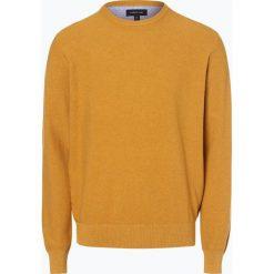 Swetry klasyczne męskie: Andrew James – Sweter męski, złoty