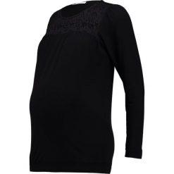 Bluzki asymetryczne: Envie de Fraise NELIA  Bluzka z długim rękawem black