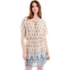 Sukienki boho: Sukienka - 98-33061 BEIG