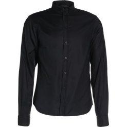 Koszule męskie na spinki: Bruuns Bazaar ANTHONYS Koszula black