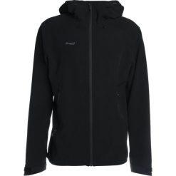 Bergans RAMBERG Kurtka Softshell black/solidcharcoal. Czarne kurtki sportowe męskie Bergans, m, z elastanu. Za 629,00 zł.