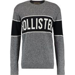 Swetry klasyczne męskie: Hollister Co. HOLIDAY PATTERN CREW Sweter dark grey