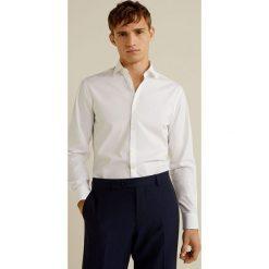 Mango Man - Koszula Play. Szare koszule męskie na spinki marki S.Oliver, l, z bawełny, z włoskim kołnierzykiem, z długim rękawem. Za 139,90 zł.