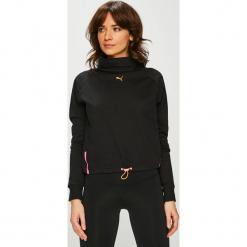 Puma - Bluzka. Czarne bluzki damskie Puma, l, z bawełny, z golfem. Za 219,90 zł.